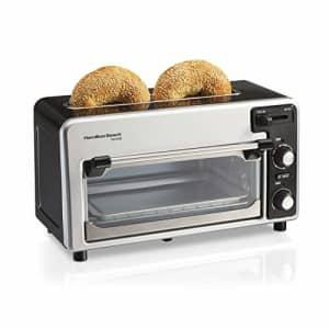 Hamilton Beach Toastation 2-Slice Toaster and Oven Combo, Extra Wide Slots, Shade Selector, Baking for $196