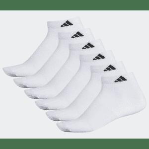 adidas Superlite Low-Cut Socks 6-Pack: 2 for $15
