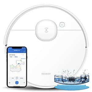 ECOVACS Deebot OZMO N7 Robot Vacuum and Mop Cleaner, Laser Navigation, Lidar-Assisted Object for $450