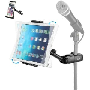 Moukey Mic Stand and Tablet Holder for $9