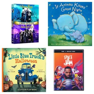 Books & Movies at Amazon: Buy 2, get 3rd free
