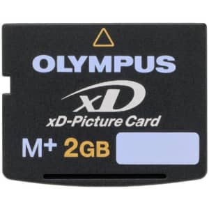 Olympus xD-Picture Card M+ 2 GB for $102