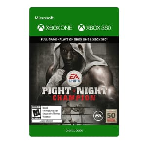 Fight Night Champion for Xbox One: $3.99