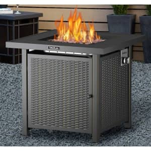 """Tacklife Companion 28"""" Propane Fire Pit Table for $175"""