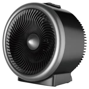 Mainstays 2-in-1 1,500W Fan & Heater for $13