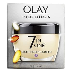 Olay Total Effects 1.7-oz. 7-in-1 Night Firming Cream for $13