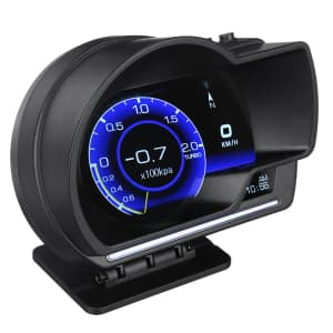 OBD GPS Vehicle Tracker Display for $46