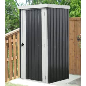 Hanover Galvanized Steel Patio Storage Shed for $296