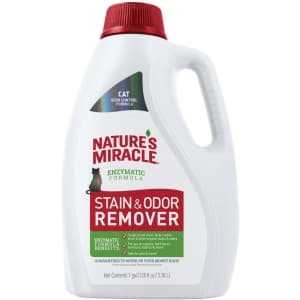 Nature's Miracle 1-Gallon Stain and Odor Remover for $12