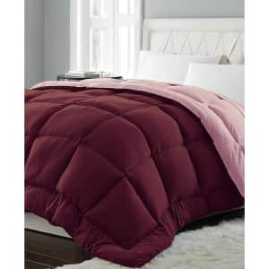Blue Ridge Reversible Down Alternative Comforter for $20