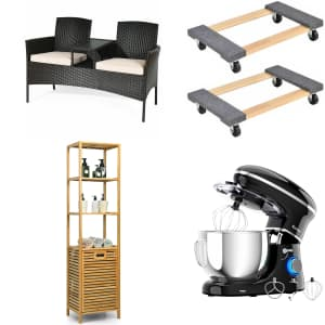 Costway Labor Day Sale: Up to 50% off