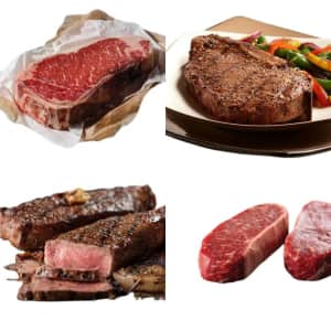 New York Strip at Omaha Steaks: 50% off