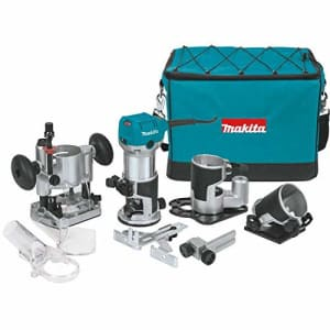 Makita RT0701CX3 1-1/4 HP Compact Router Kit, Teal for $294