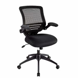 Realspace Calusa Mesh Mid-Back Chair, Black for $164