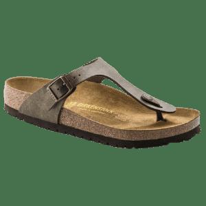Birkenstock Women's Gizeh Birko-Flor Sandals for $60