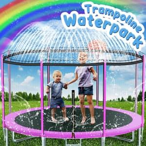 Soofun 39-Ft. Trampoline Sprinkler Toy for $9