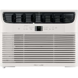 FRIGIDAIRE 12,000 BTU 115V Window-Mounted Compact Air Conditioner with Remote Control, White for $340