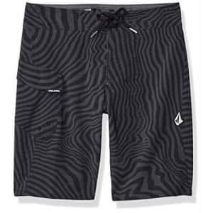 Volcom Boys' Mod Tech Boardshorts, Black, 5 for $21