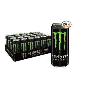 Monster Energy Drink 16-oz. Can 24-Pack for $34