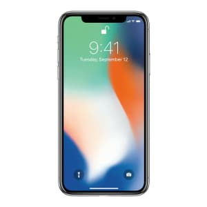 Apple iPhone X 64GB GSM Smart Phone for $282
