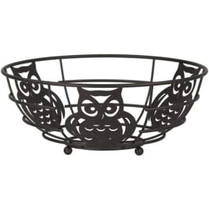 Home Basics Owl Fruit Bowl for $13