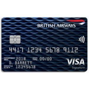 British Airways Visa Signature® Card: Earn 50,000 bonus Avios + Travel Together Ticket