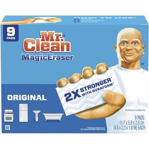 Mr. Clean Magic Eraser Original Cleaning Pads 9-Pack for $5.66 via Sub & Save