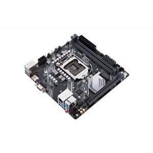Asustek Computer ASUS Prime H410I-Plus IntelH410 (LGA 1200) Mini-ITX Motherboard, M.2, DDR4 for $187