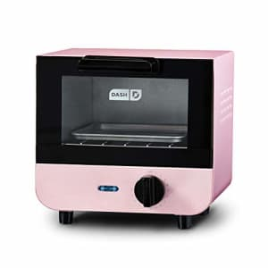 Dash DMTO100GBPK04 Mini Toaster Oven Cooker for Bread, Bagels, Cookies, Pizza, Paninis & More with for $32