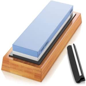 Sharp Pebble Premium Whetstone Knife Sharpening Stone for $39