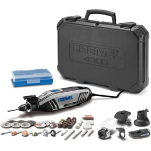 Dremel 4300 Rotary Tool Kit with Accessories for $115
