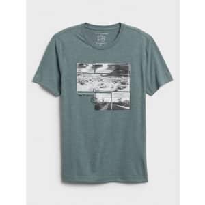 Banana Republic Factory Men's Joshua Tree Graphic T-Shirt for $10