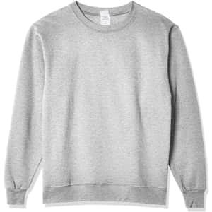 Hanes Men's EcoSmart Sweatshirt for $9