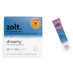 Zolt CBD Dreamy 200mg Honey Citrus Tea 10-Count for $24