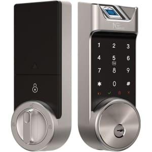 NGTeco 5-in-1 Fingerprint Bluetooth Smart Deadbolt for $170