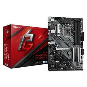 ASROCK B460 Phantom Gaming 4 Supports 10th Gen Intel Core Processors (Socket 1200) Motherboard for $120