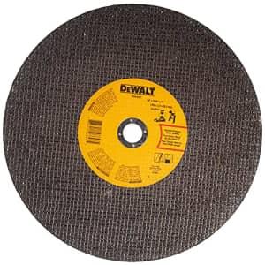 DEWALT Chop Saw Wheel, General Purpose, 14-Inch x 7/64-Inch x 1-Inch (DWA8011) for $7