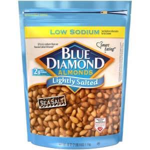 Blue Diamond Almonds 40-Oz. Resealable Bag for $9 via Sub & Save