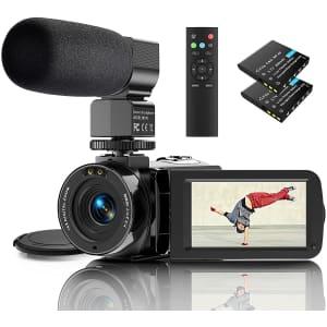 Actitop FHD 1080p Camcorder for $103