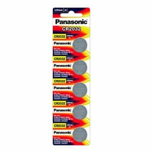 Panasonic Lot of 100 Batteries CR2032 DL2032 ECR2032 3V Lithium Coin Battery for $40