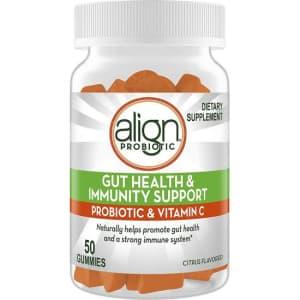 Align Probiotic Gut Health & Immunity Support Gummies for $10