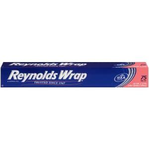 Reynolds Wrap Aluminum Foil 75-Sq. Ft. Roll for $2.34 via Sub & Save