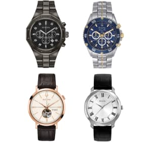 Bulova Watches at Amazon: Up to 60% off