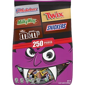 Mars 250-Piece Halloween Chocolate Candy Variety Mix for $20