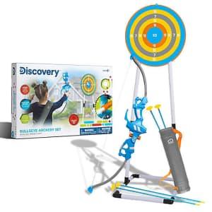 Discovery Kids Kids Bullseye Outdoor Archery Set for $30