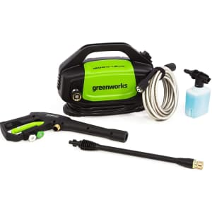 Greenworks 1,500-PSI Electric Pressure Washer for $70