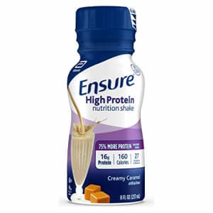 Ensure High Protein Nutritional Shake with 16g of Protein, Ready-to-Drink Meal Replacement Shakes, for $50