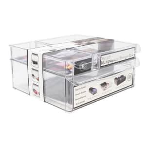 Gourmet Home Products 3-Piece Home Storage Organizer Bin Set for $7