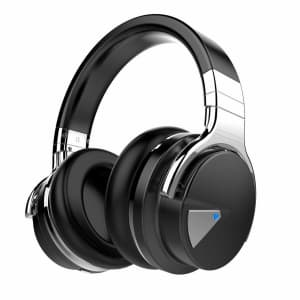 Cowin E7 Wireless Noise-Cancelling Bluetooth Headphones w/ Mic for $35