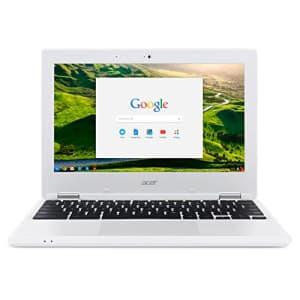 Acer Chromebook 11, 11.6-inch HD, Intel Celeron N2840, 4GB DDR3L, 16GB Storage, Chrome, CB3-131-C8GZ for $400
